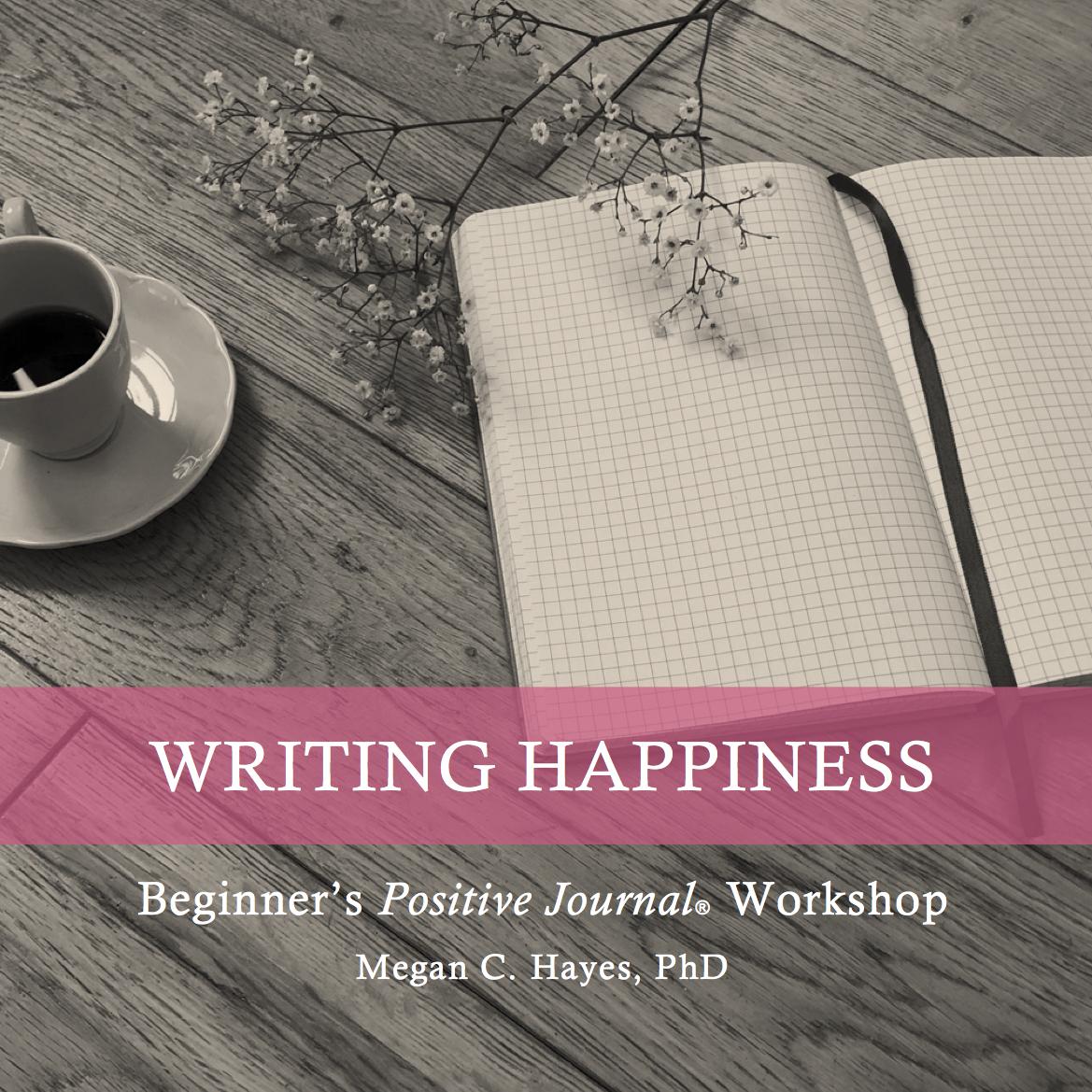 Positive Psychology Journal Workshop
